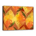 Fall Colors Leaves Pattern Canvas 16  x 12  View1