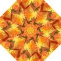 Fall Colors Leaves Pattern Hook Handle Umbrellas (Medium) View1