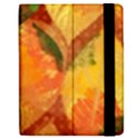 Fall Colors Leaves Pattern Apple iPad 2 Flip Case View2