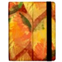 Fall Colors Leaves Pattern Apple iPad Mini Flip Case View2