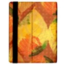 Fall Colors Leaves Pattern Samsung Galaxy Tab 10.1  P7500 Flip Case View2