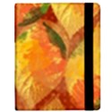Fall Colors Leaves Pattern Samsung Galaxy Tab 8.9  P7300 Flip Case View2