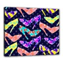 Colorful High Heels Pattern Canvas 24  x 20  View1