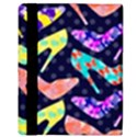 Colorful High Heels Pattern Apple iPad Mini Flip Case View3