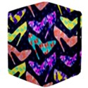 Colorful High Heels Pattern Apple iPad Mini Flip Case View4