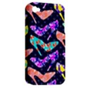Colorful High Heels Pattern Apple iPhone 4/4S Hardshell Case (PC+Silicone) View2