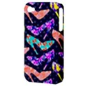 Colorful High Heels Pattern Apple iPhone 4/4S Hardshell Case (PC+Silicone) View3