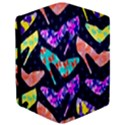Colorful High Heels Pattern iPad Mini 2 Flip Cases View3