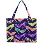 Colorful High Heels Pattern Mini Tote Bag