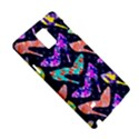 Colorful High Heels Pattern Samsung Galaxy Note 4 Hardshell Case View5