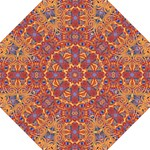 Oriental Watercolor Ornaments Kaleidoscope Mosaic Straight Umbrellas