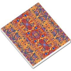 Oriental Watercolor Ornaments Kaleidoscope Mosaic Small Memo Pads