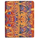 Oriental Watercolor Ornaments Kaleidoscope Mosaic Apple iPad 2 Flip Case View1