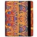 Oriental Watercolor Ornaments Kaleidoscope Mosaic Apple iPad 2 Flip Case View2