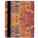 Oriental Watercolor Ornaments Kaleidoscope Mosaic Apple iPad 2 Flip Case View3