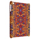 Oriental Watercolor Ornaments Kaleidoscope Mosaic Apple iPad Mini Hardshell Case View2