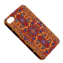Oriental Watercolor Ornaments Kaleidoscope Mosaic Apple iPhone 4/4S Hardshell Case with Stand View5