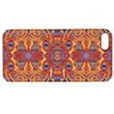 Oriental Watercolor Ornaments Kaleidoscope Mosaic Apple iPhone 5 Hardshell Case with Stand View1
