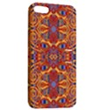 Oriental Watercolor Ornaments Kaleidoscope Mosaic Apple iPhone 5 Hardshell Case with Stand View2