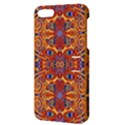 Oriental Watercolor Ornaments Kaleidoscope Mosaic Apple iPhone 5 Hardshell Case with Stand View3