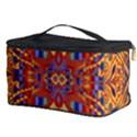 Oriental Watercolor Ornaments Kaleidoscope Mosaic Cosmetic Storage Case View3