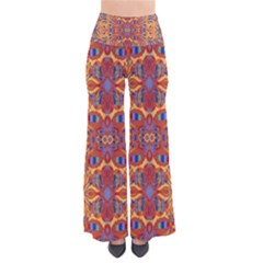 Oriental Watercolor Ornaments Kaleidoscope Mosaic Pants by EDDArt