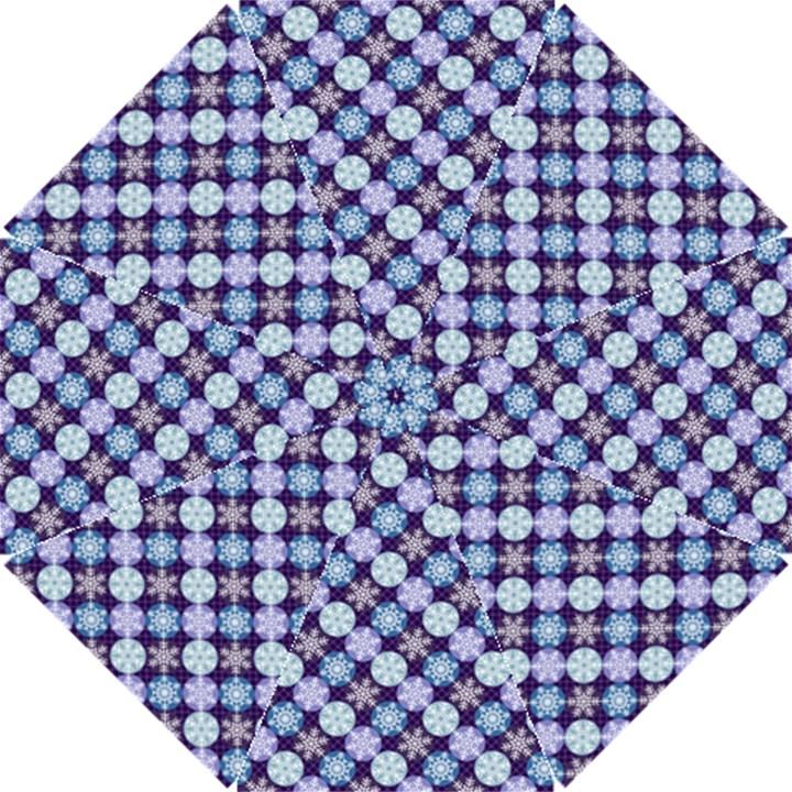 Snowflakes Pattern Hook Handle Umbrellas (Small)