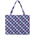 Snowflakes Pattern Mini Tote Bag