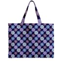 Snowflakes Pattern Zipper Mini Tote Bag View2
