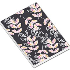 Winter Beautiful Foliage  Large Memo Pads by DanaeStudio