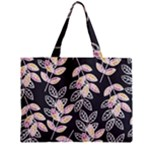 Winter Beautiful Foliage  Zipper Mini Tote Bag