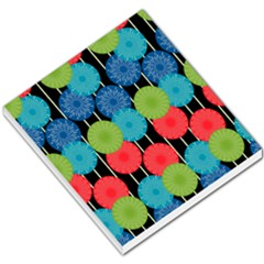 Vibrant Retro Pattern Small Memo Pads by DanaeStudio