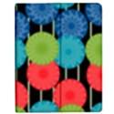 Vibrant Retro Pattern Apple iPad 2 Flip Case View1