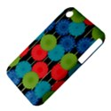 Vibrant Retro Pattern Apple iPhone 3G/3GS Hardshell Case (PC+Silicone) View4