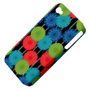 Vibrant Retro Pattern Apple iPhone 4/4S Hardshell Case (PC+Silicone) View4