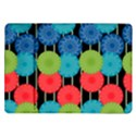 Vibrant Retro Pattern Samsung Galaxy Tab 10.1  P7500 Flip Case View1