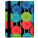 Vibrant Retro Pattern Samsung Galaxy Tab 10.1  P7500 Flip Case View2