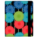 Vibrant Retro Pattern Samsung Galaxy Tab 8.9  P7300 Flip Case View2