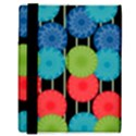 Vibrant Retro Pattern Samsung Galaxy Tab 8.9  P7300 Flip Case View3
