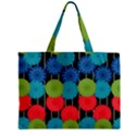 Vibrant Retro Pattern Zipper Mini Tote Bag View2
