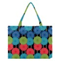 Vibrant Retro Pattern Medium Tote Bag View1