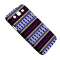Colorful Retro Geometric Pattern Samsung Galaxy Mega 5.8 I9152 Hardshell Case  View5
