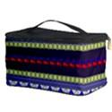 Colorful Retro Geometric Pattern Cosmetic Storage Case View3