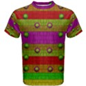A Wonderful Rainbow And Stars Men s Cotton Tee View1