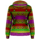 A Wonderful Rainbow And Stars Women s Pullover Hoodie View2