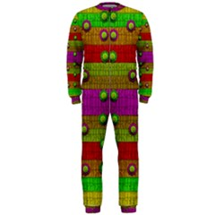 A Wonderful Rainbow And Stars Onepiece Jumpsuit (men)