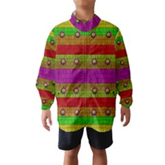A Wonderful Rainbow And Stars Wind Breaker (kids)