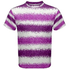 Pink Christmas Background Men s Cotton Tee
