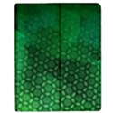 Ombre Green Abstract Forest Apple iPad Mini Flip Case View1