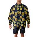 Daisy Flower Pattern For Summer Wind Breaker (Kids) View1